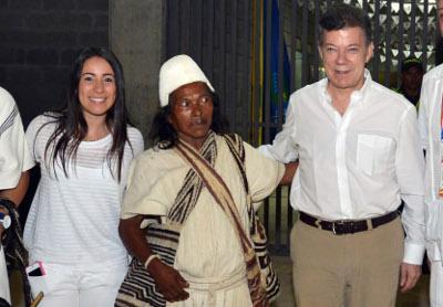 El presidente Santos inauguró los Juegos  Nacionales