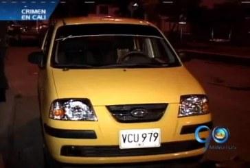 Cadáver desmembrado en el baúl de un taxi al oriente de Cali