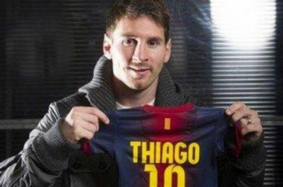 A Messi le llegó el mejor premio de la vida: su 'pulguita' Thiago