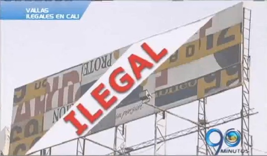 Ultimátum a propietarios de vallas irregulares en Cali
