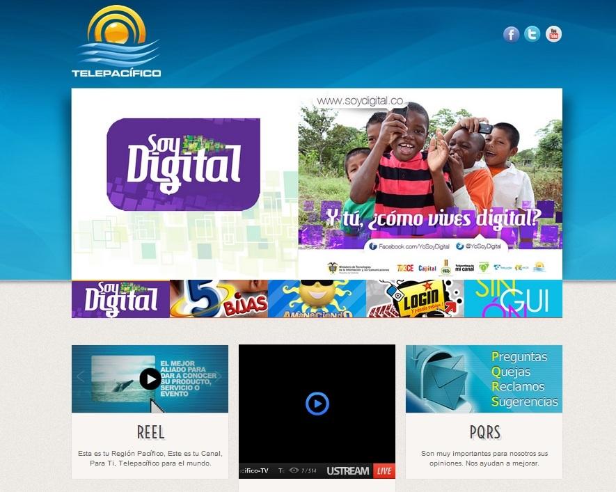 'El Canal del Sol', Telepacífico, estrena su nueva página web