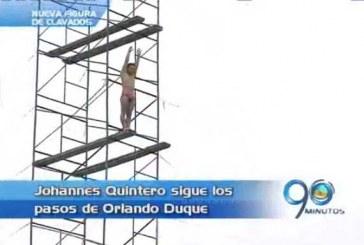 El clavadista Johanes Quintero aspira estar en la serie mundial
