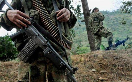Enfrentamientos entre el Ejército y las Farc en Páez, Cauca