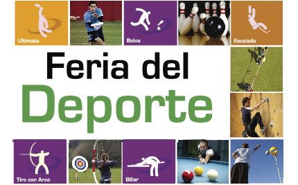 Feria del Deporte, alternativa saludable para días de fiesta