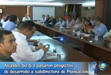 Alcaldes del G 11 presentaron proyectos de desarrollo