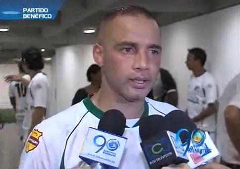 Mayer Candelo participó en partido benéfico del Deportivo Cali