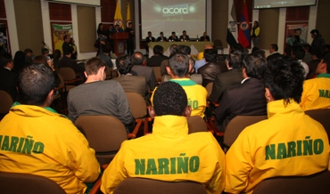 Nariño exaltó a sus mejores deportistas en los Juegos Nacionales