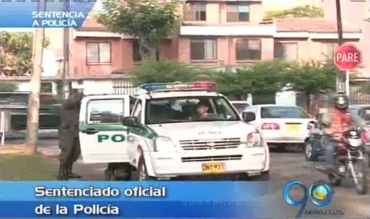 Dura sentencia a oficial de la Policía que participó en robo a apartamento