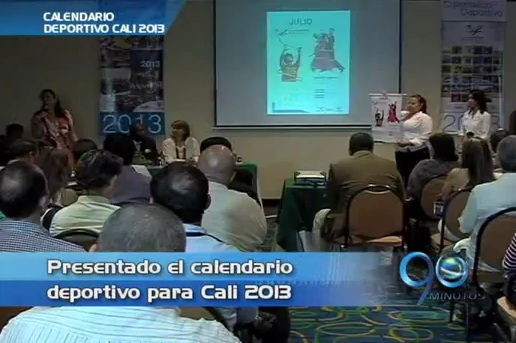 Secretaría del Deporte presentó el calendario deportivo Cali 2013