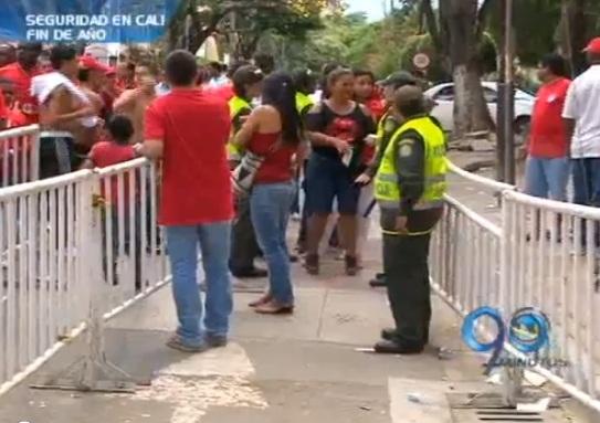 Estricto dispositivo de seguridad para el partido América vs Cúcuta