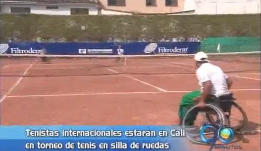 Cali será sede del certamen deportivo de tenis en sillas de rueda