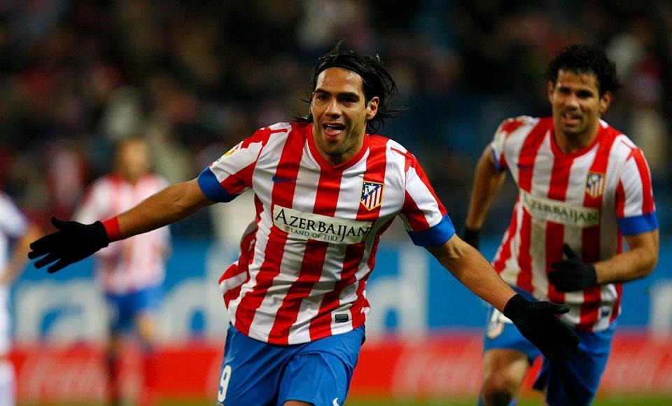 ¡Rugidos históricos! Falcao marcó 5 goles en victoria del Atlético de Madrid