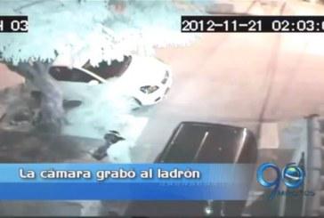 En video quedó registrado un robo en La Hacienda, sur de Cali