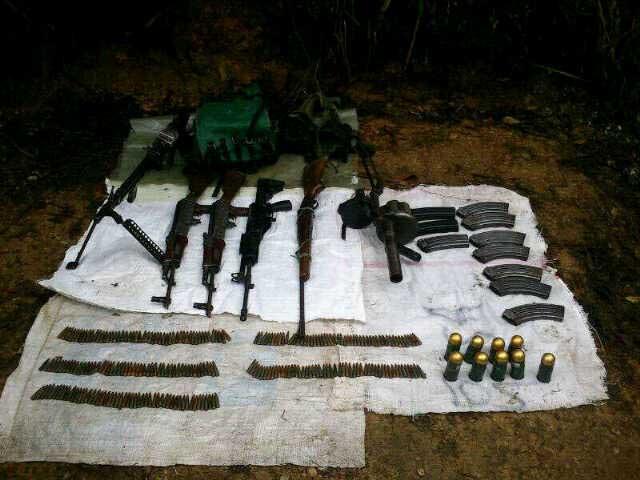 Fuerza de tarea Apolo del ejército halla caleta  de armas en zona rural de Florida