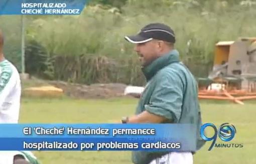 Evoluciona favorablemente el estado de salud del 'Cheché' Hernández