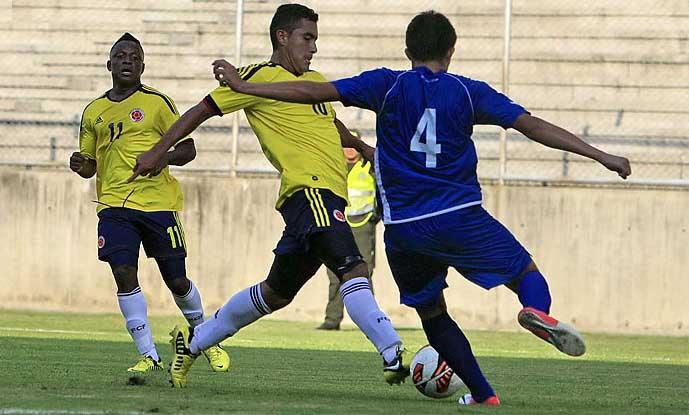 Con goleada, Colombia Sub-20 cerró su preparación en Cali
