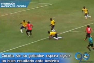 Cúcuta, sin goleador, aspira lograr un buen resultado ante el América