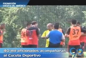 Esta noche 40 mil personas acompañarán al Cúcuta Deportivo