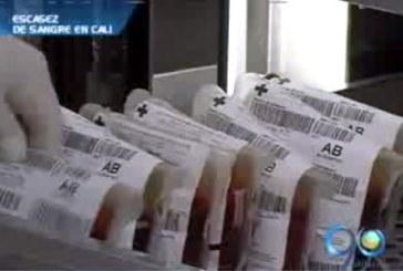 Escasez en los bancos de sangre de la capital vallecaucana