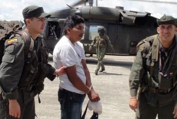 Capturan presuntos guerrilleros de las FARC en el Cauca