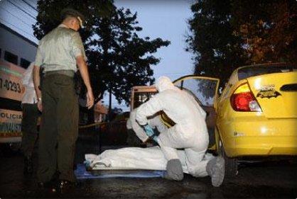 Taxista fue asesinado en el nororiente de Cali