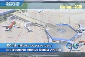 Aeropuerto Alfonso Bonilla Aragón será remodelado