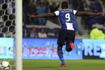 Gracias al gol de Jackson Martínez, Porto sigue líder de la liga lusa