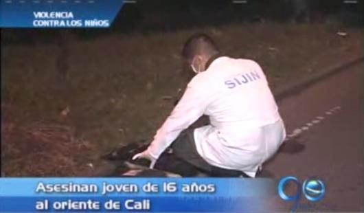 Menor de 16 años, asesinada al oriente de Cali
