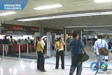 Aumentó migración de pasajeros durante el 2012