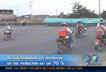 Accidentalidad en motovía, oriente de Cali, se ha reducido en un 70%