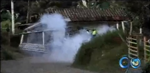 Vendedores de pólvora atacan a la Policía en La Cumbre