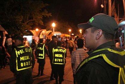 Continúan operativos de la Policía en la Feria de Cali