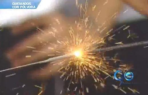Aumenta la cifra de quemados con pólvora en el HUV