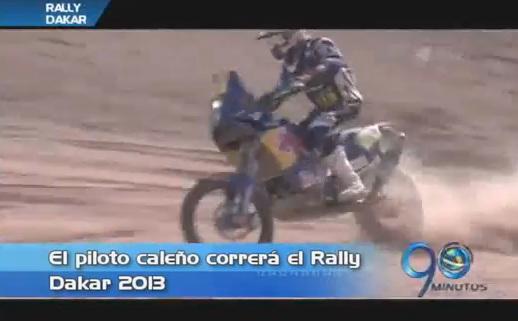 El caleño Luis Fernando Jaramillo competirá en el Rally Dakar