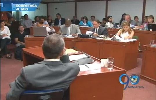 Concejo de Cali aprobó recursos de la sobretasa a la gasolina para el MIO