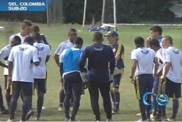 Selección Colombia Sub-20 entrena en Cali para el Sudamericano de Argentina