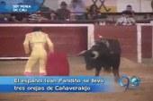 Iván Fandiño se llevó tres orejas de Cañaveralejo