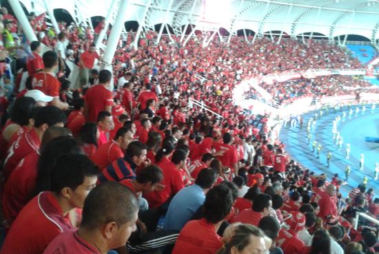 La parcial 'Escarlata' no podrá ingresar al estadio del Cúcuta para la promoción