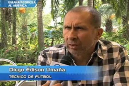 Diego Umaña, a punto de ser el nuevo técnico del América