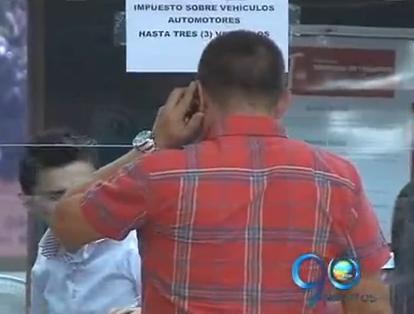 Gobernación comenzó a recaudar el impuesto automotor
