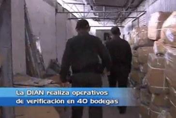 Operativos de la DIAN en 40 bodegas del centro de Cali