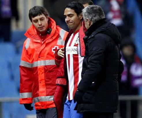 Falcao García estaría 20 días por fuera de las canchas por lesión muscular