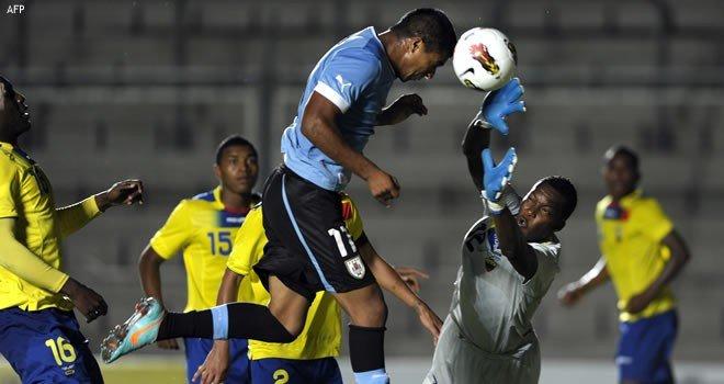 Uruguay sigue en el liderato del Grupo B del Suramericano Sub-20