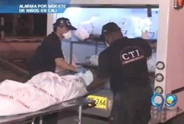 Alarma por muerte de menores en la capital vallecaucana