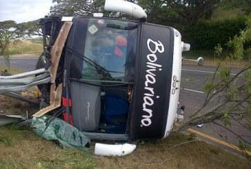 Seis personas heridas en accidente en La Victoria, Valle