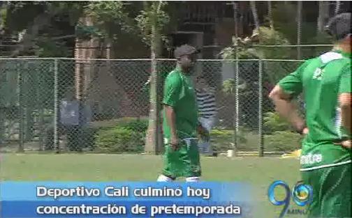 Deportivo Cali culminó concentración y prepara amistosos internacionales