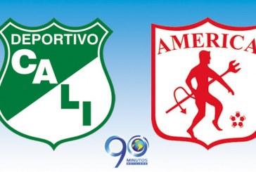 América por el regreso a la A y Deportivo Cali por la novena en este 2013