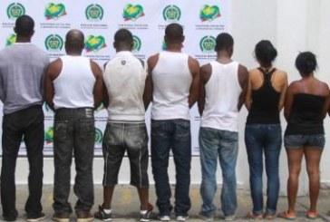 Nueve presuntos guerrilleros capturados en Nariño