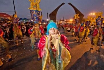 En el 'El Carnavalito', los niños se tomaron a Pasto
