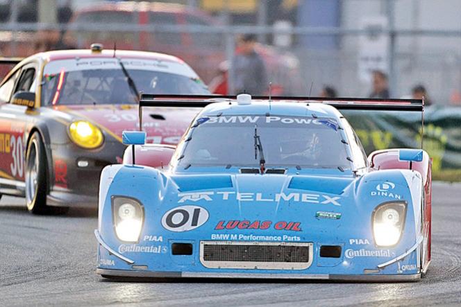Juan Pablo Montoya cruzó primero las 24 Horas de Daytona 2013